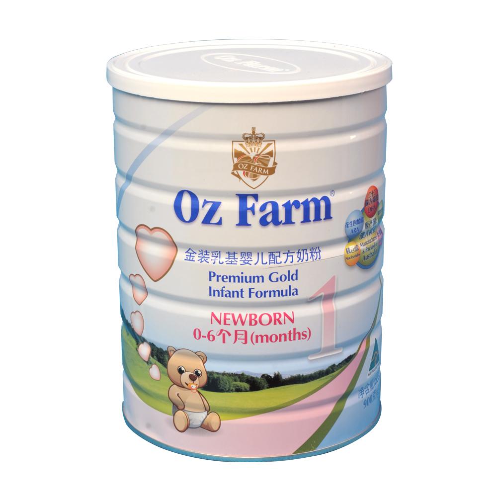 ozfarm澳大利亚原装进口婴幼儿配方奶粉1段